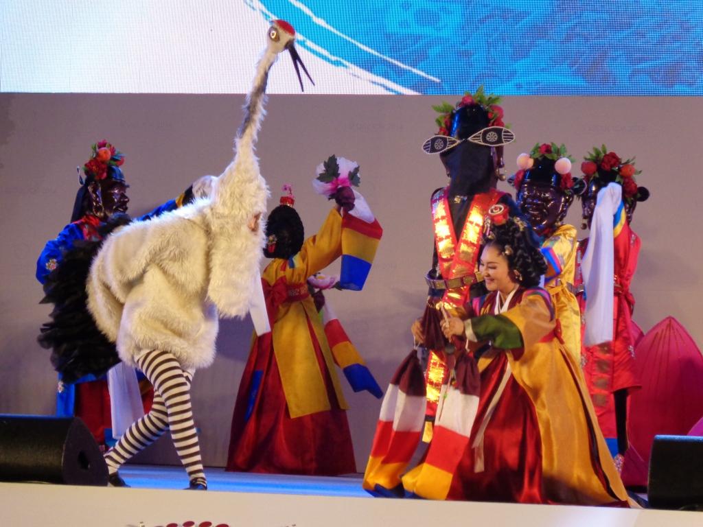 Dancers of various kinds